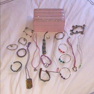 Other - Costume jewelry bundle w/ jewelry box included